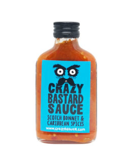 Crazy Bastard Sauce Scotch Bonnet Caribbean Spices